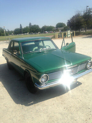 1963 Plymouth Other Valiant 1963 Plymouth Valiant Original California Black Plate