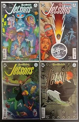 The Jetsons #1 The Jetsons #2 Covers A & B Hanna Barbera Dc Comics Lot Nm+