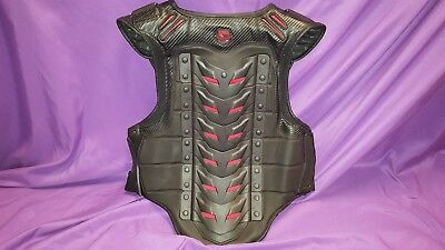 Icon FIELD ARMOR Black-Out STRYKER Motorcycle Vest Size S/M small - medium