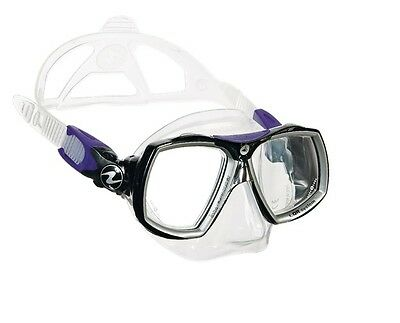 Aqualung Look 2 Midi Diving Mask Twilight for Ladies & YOUNG + Protective Heat