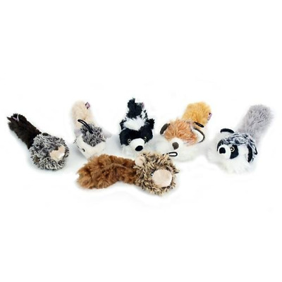 NEW Multipet Bouncy Burrow Buddies Babies Assorted Dog Toys, 8-Inch Random Color