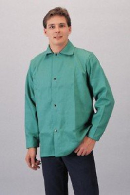 "Tillman 6230-L Lightweight 30"" GREEN Jacket Flame Retardant Cotton - LARGE"