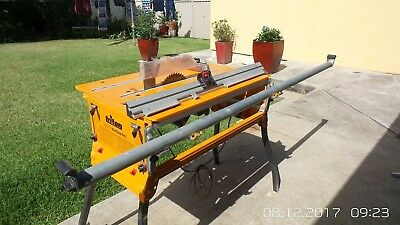 Triton Workcentre Series 2000 Plus Saw and Extras