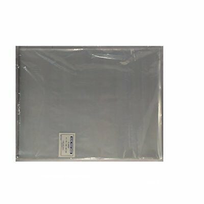 "100 - 12 x 15"" Poly Clear Plastic T-Shirt / Apparel Bags 1 Mil 2"" Back Flap Lock"