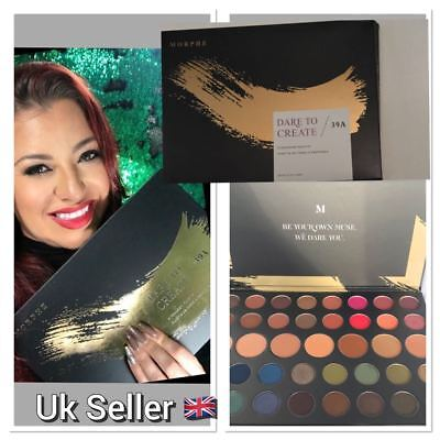 MORPHE Dare to Create 39A Eyeshadow Palette Make Up Holiday Gift  UK Seller 2017