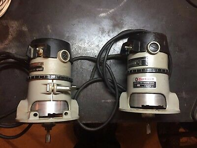 Two Professional Rockwell Router(s) 6301 Base 6302 Motor