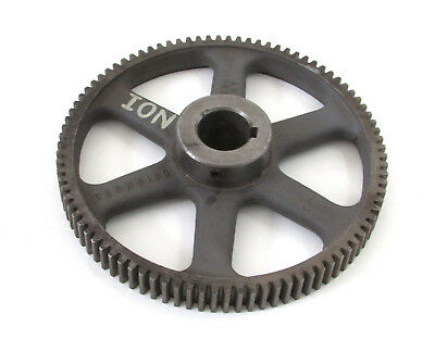 Vintage Cast Industrial Iron Gear Cog Sprocket Steampunk Lamp Base Table Decor
