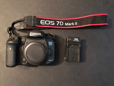 Canon EOS 7D Mark II Digital SLR Body And 18-55mm IS Lens Low Shutter Count