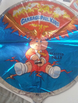 1986 Garbage Pail Kids 18 Inch Mylar Blasted Billy Balloon - NOS