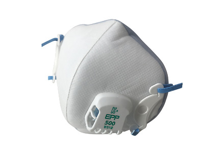 Dobu EPP-500 N95 Particulate Respirator Disposable Mask With Valve (10 pack)