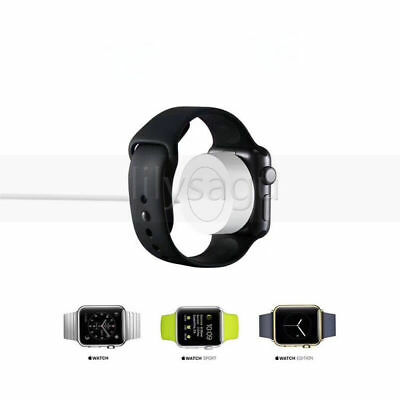 For 38mm & 42mm Apple Watch Series 1 2 3 Magnetic Charger Charging USB Cable New