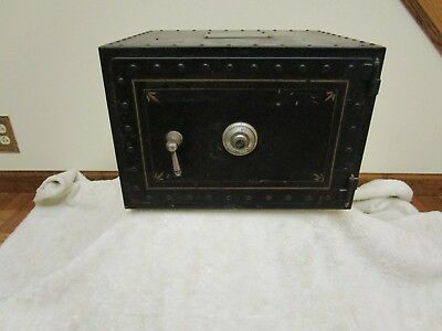 Vintage Safe. Keepsafe Co. Prototype, One Of A Kind, Alarm Bell System, Original