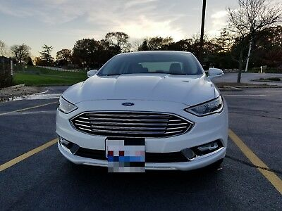 2017 Ford Fusion  2017 FORD FUSION TITANIUM ECOBOOST NAVIGATION