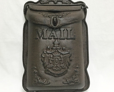 CAST IRON Working Replica Mailbox Vintage look NEW!!!