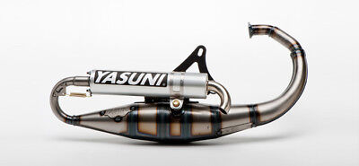 EXHAUST PIPE YASUNI R SCOOTER 50 CC MBK BOOSTER / STUNT (choice color)