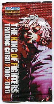 THE KING OF FIGHTERS Limited Edition 2000-2001 Trading Card 50 packs RARE