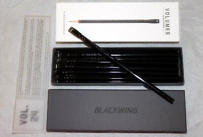 One Dozen NIB Palomino Blackwing Volume 24 (Steinbeck) Pencils