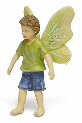 "2.25"" My Fairy Gardens Mini Figure Pick - Strolling Boy - Miniature Figurine"