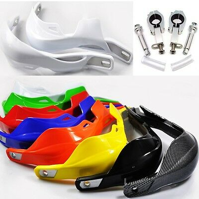 "7/8"" 28mm Dirtbike Chopper Scooter Motorcycle Hand Guards Handguard PIT BIKE NEW"