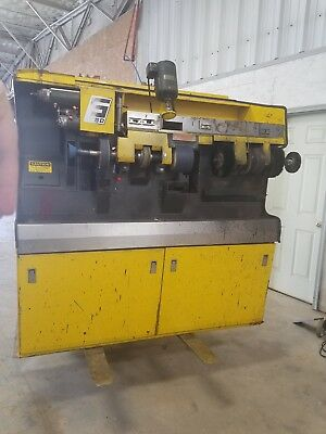 Sutton s1250 sander finisher used shoe repair machine. extra sand paper with it