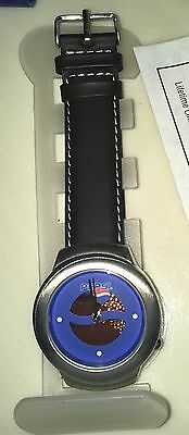 COOL Pepsi Cola Soda Pop WATCH NEW in ORIGINAL Box with Leather Band