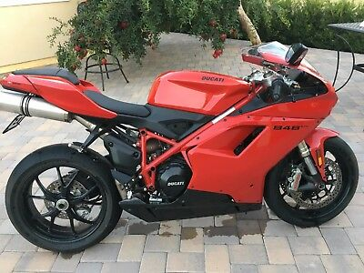 2013 Ducati Superbike  2013 DUCATI 848 EVO SUPERBIKE LOW MILES NO RESERVE ONE TIME AUCTION DON'T MISS.
