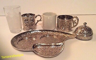 Turkish Coffee Set, Coffe Cups, water cup