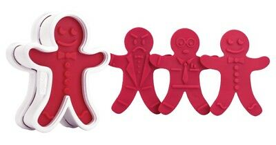 Tovolo Gingerbread Cookie Cutters - 6 Designs