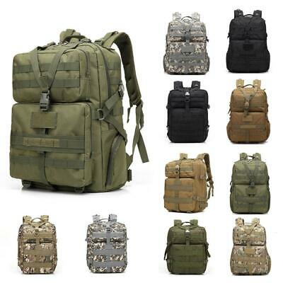45L Outdoor Military Rucksacks Tactical Backpack Camping Hiking Trekking Bag New