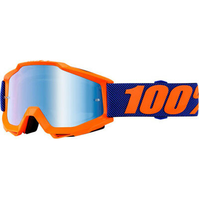 100 Percent Accuri Origami S18, Crossbrille Orange Blau-Verspiegelt