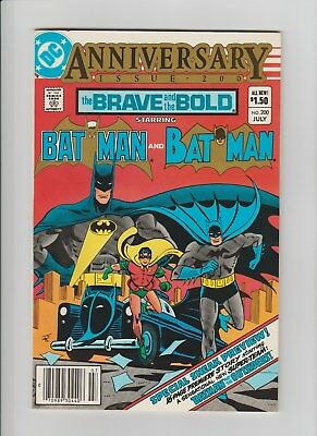 The Brave and the Bold #200 (Jul 1983, DC) NM (9.4) 1st App. of Katana/Outsiders
