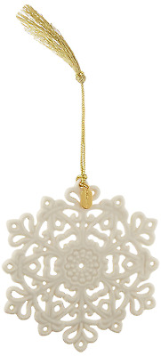 Lenox 2017 Snow Fantasies Snowflake Ornament New Free Shipping