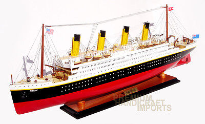 """40"""" RMS Titanic Model Ship Handcrafted by master craftsmen"""
