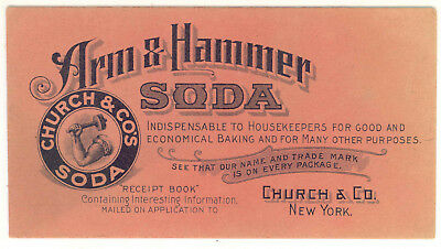 Vintage Church & Co's Soda Arm & Hammer Soda  Ink Blotter