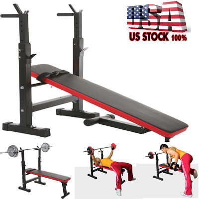 Adjustable Weight Bench Dumbbells Lifting Incline Flat