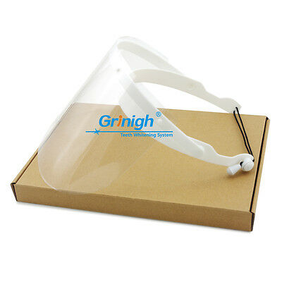 UK Dental Detachable Full Protective Face Shield With Clear Plastic Film Visors