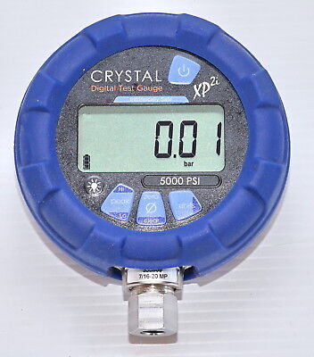 Crystal XP2i 5000psi Ex Digital Pressure Gauge Intrinsically Safe - 316 Marine