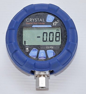 Crystal XP2i 15psi Ex Digital Pressure Gauge Intrinsically Safe - 316 Marine