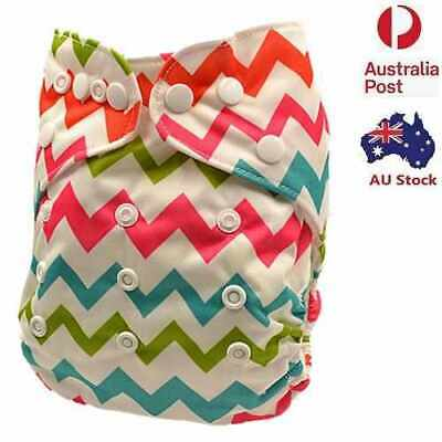 Baby Boy Breathable Longlasting Modern Cloth Nappies PUL Nappy Baby Pants (D211)
