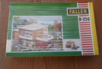 3 Faller kits. Boxed and unmade. Various houses. HO scale
