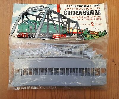 Airfix kit. Girder bridge. OO/HO scale Unmade and in sealed packet.
