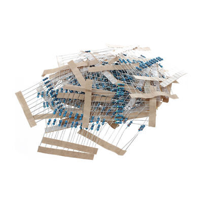 1/4w 5% Metal Film Resistor Kit 400X 40 Values Assortment/Pack/Mix/Selectio H7B7