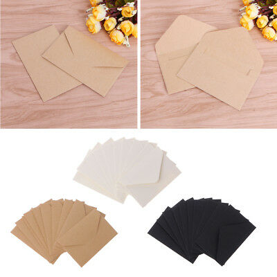 50pcsVintage European Style Craft Paper Envelopes For Card Scrapbooking Gift