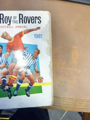 Roy Of The Rovers Football Annual 1961
