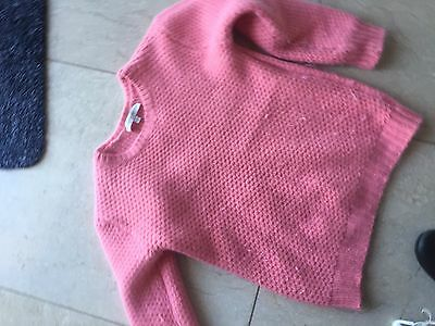 Witchery Girls Fluffy Angora/wool Jumper Size 12