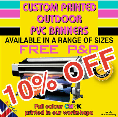 Printed Banners PVC Weatherproof Banners  Outdoor printed vinyl Banner shop sign