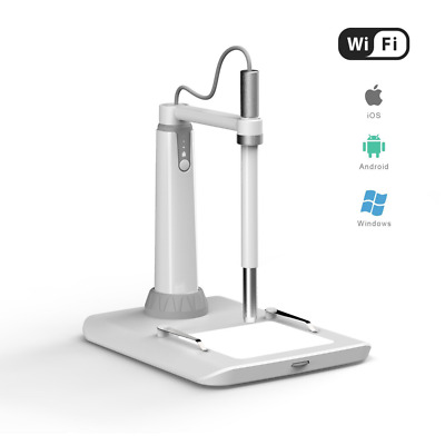 Wireless Microscope, ScopeAround WiFi Microscope Multi-function Magnifier Digita