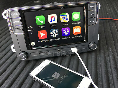 VW MIB 6.5'' RCD330 Original CarPlay Bluetooth / GOLF JETTA PASSAT TIGUAN TOURAN