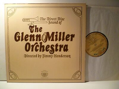 LP,  The Glenn Miller Orchestra, Jimmy Henderson, Direct Disc Sound, 1977, M-