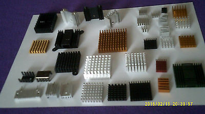 Aluminium Heat sink Radiator for IC Transistor SCR MOSFET Chipset TO-220 TO-247
